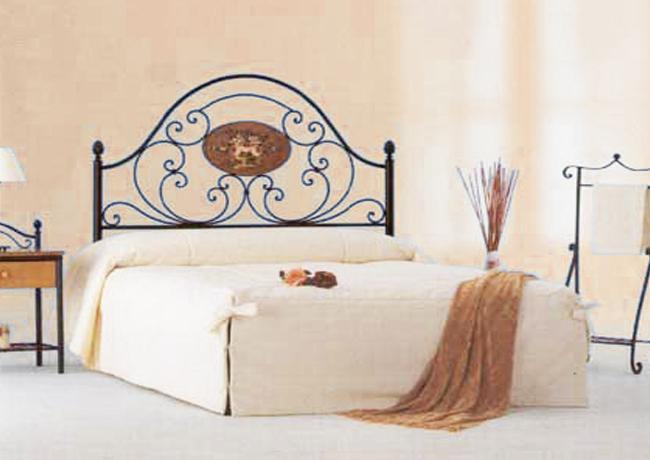 Forja cabezales r sticos decora descans colch n y - Cabezales de forja ...