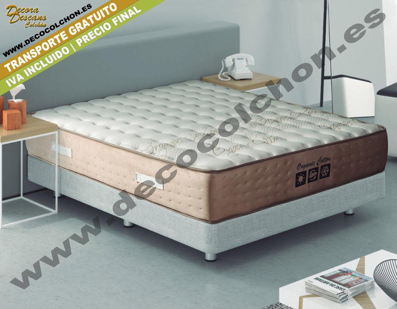 Colchon organic cotton de kassaida sleep dream descanso for Camas 110x200