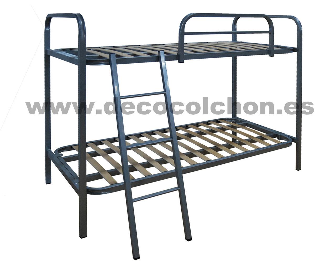 Litera japon somieres bases canap s camas y colchones for Camas 110x200
