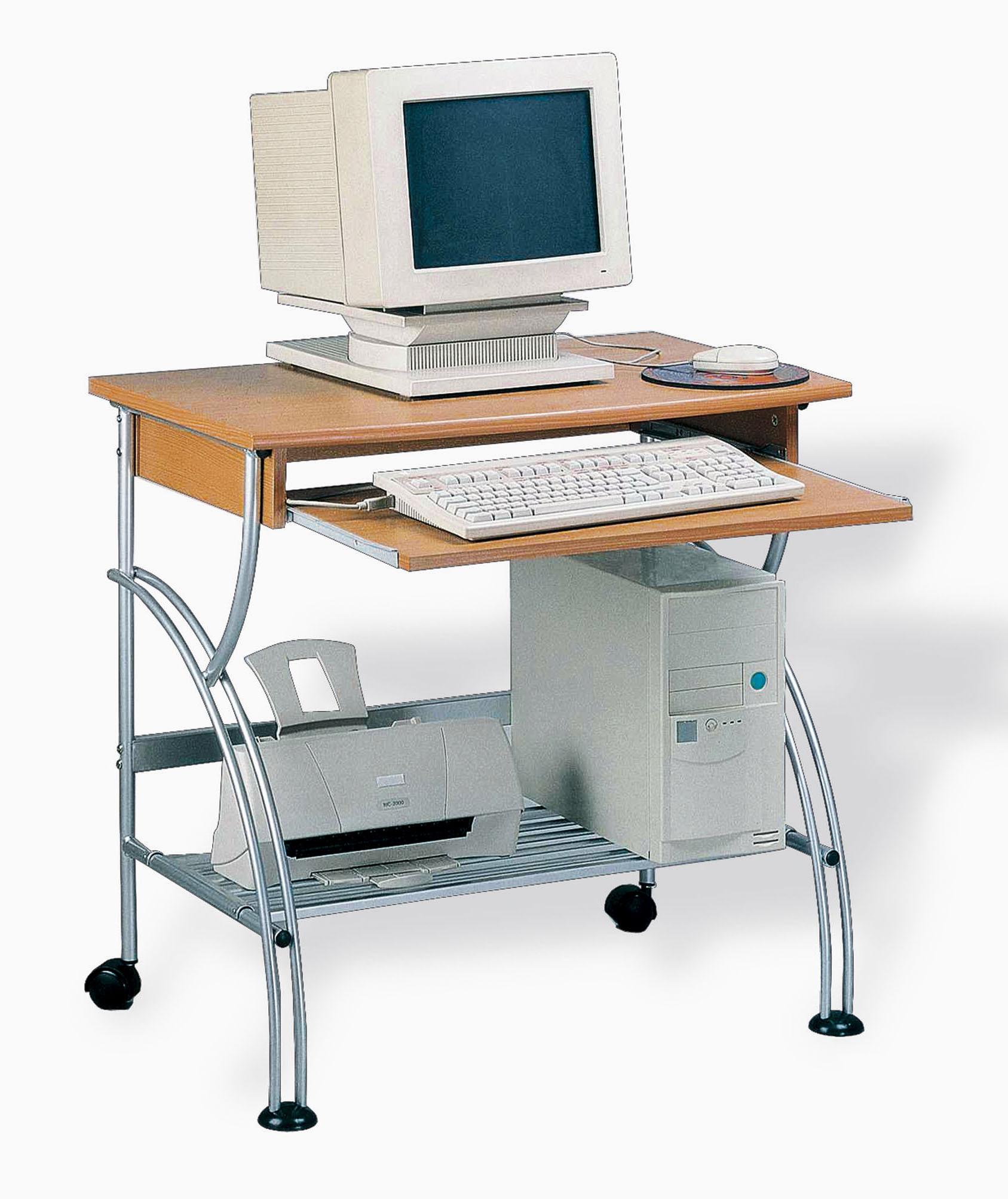 Mesa ordenador mk1 decora descans mueble complemento - Como hacer una mesa de ordenador ...