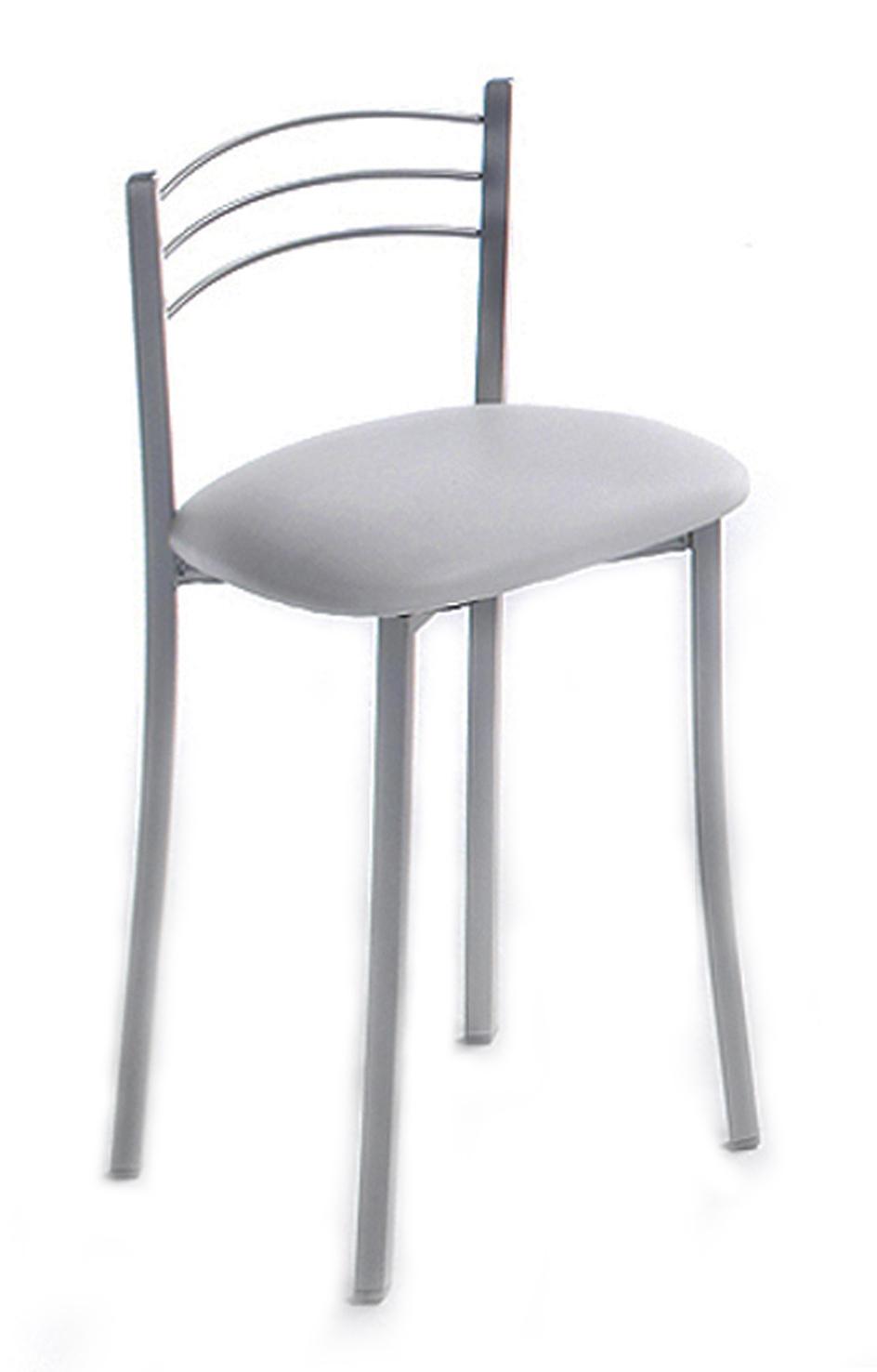 Taburete b260 decora descans complementos mueble hogar - Taburete cocina blanco ...