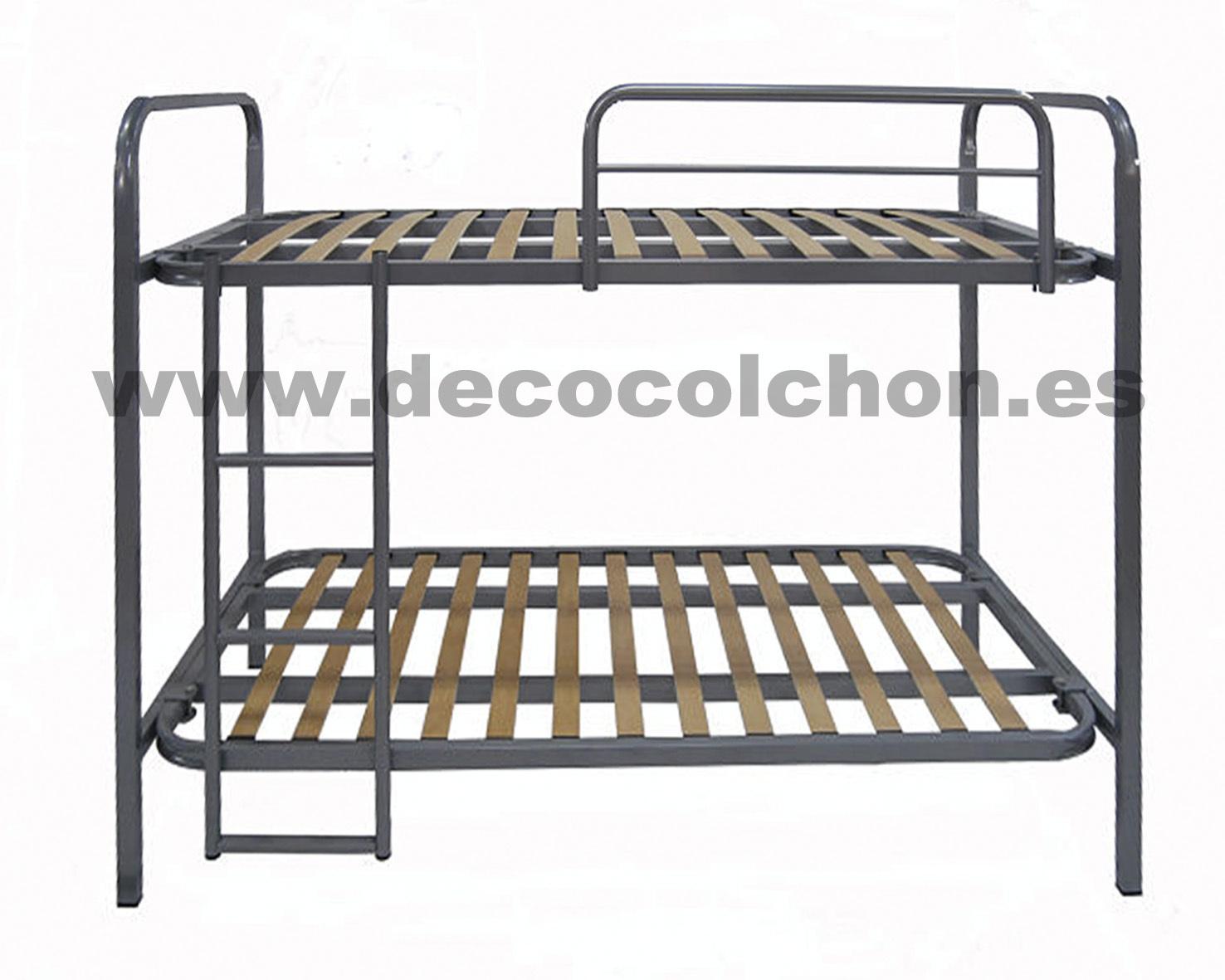 Litera andorra somieres bases canap s camas y colchones for Camas 110x200
