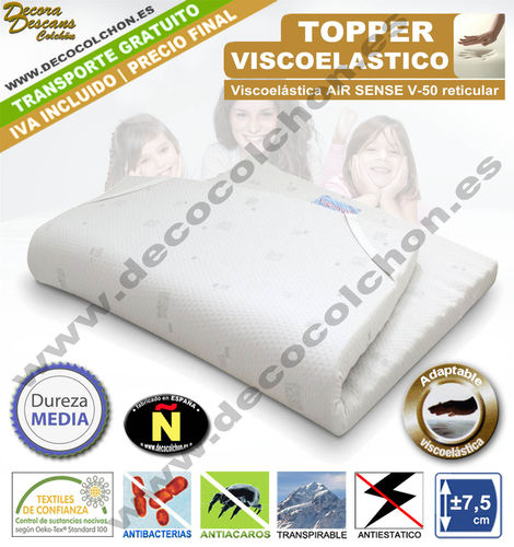 TOPPER VISCOELASTICA