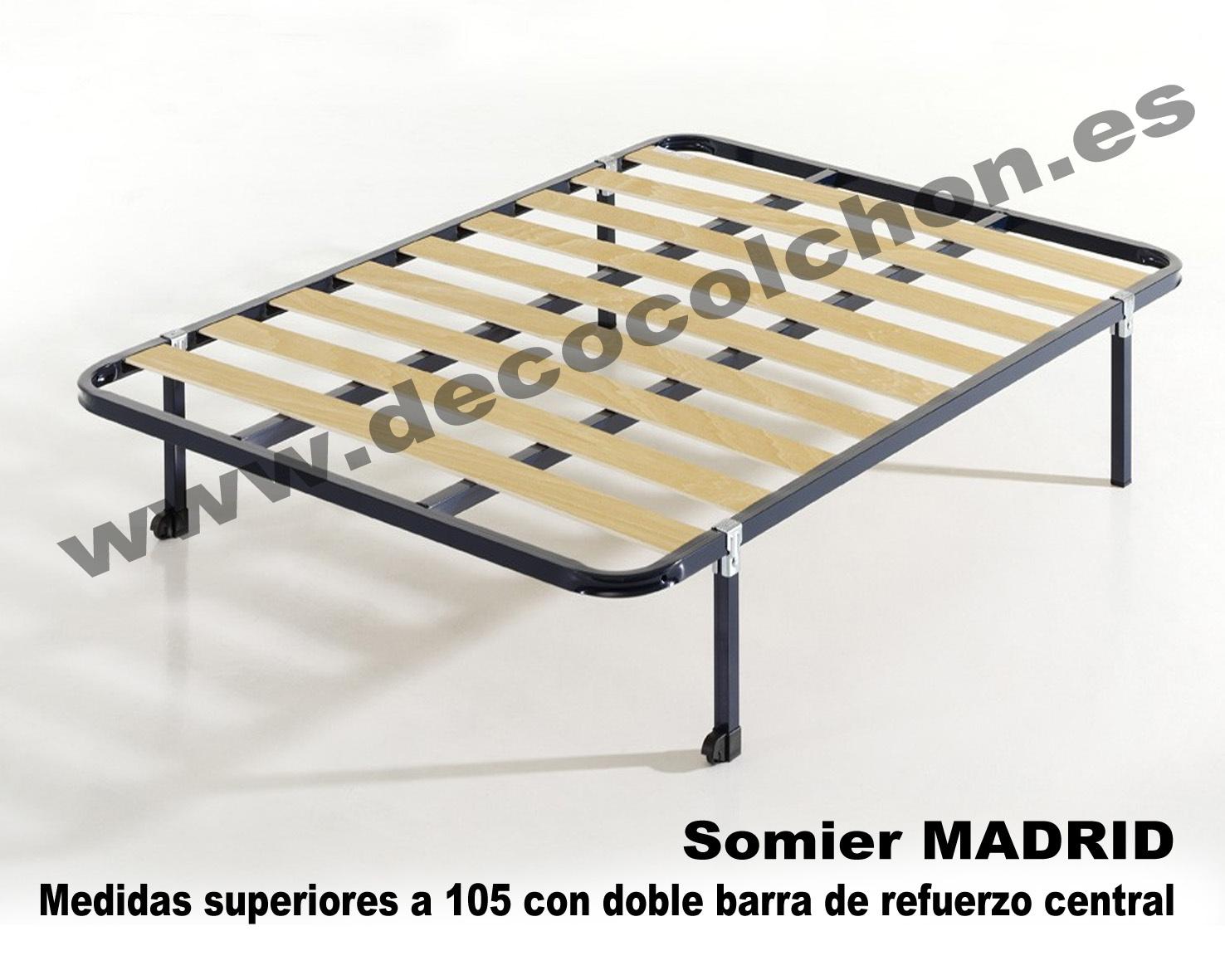 SOMIER MADRID | Somier, base, canapé, camas y colchones