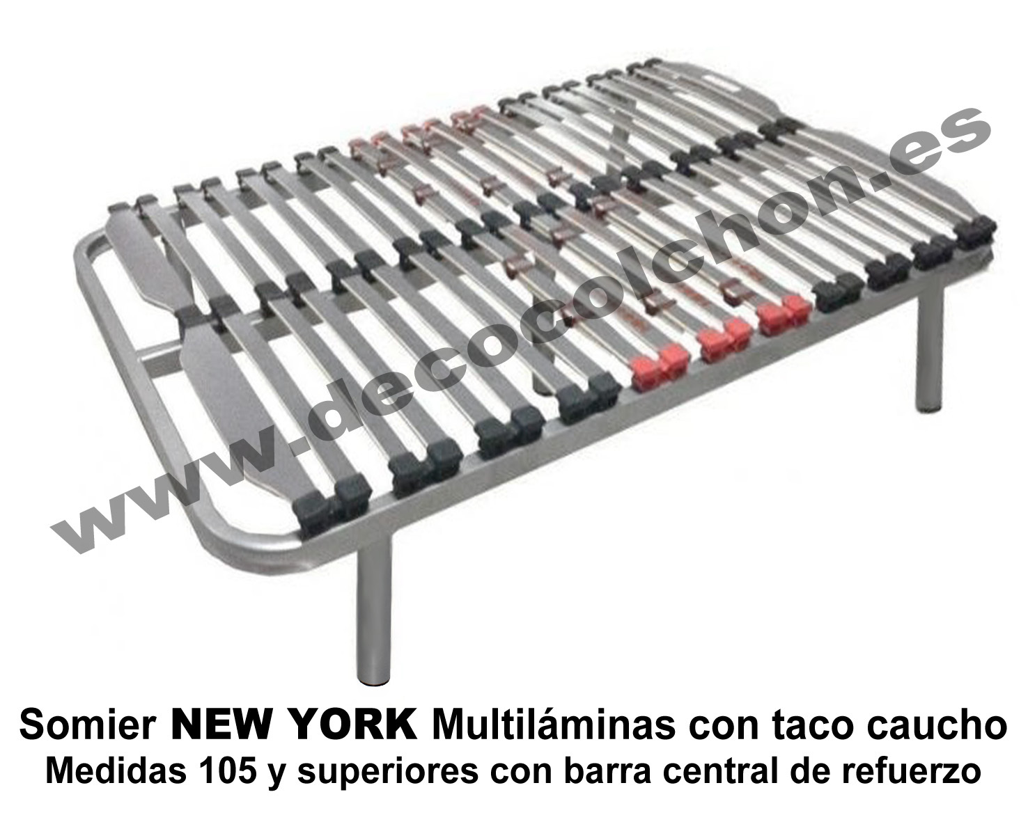 Somier NEW YORK 105 up | Camas y colchones en www.decocolchon.es