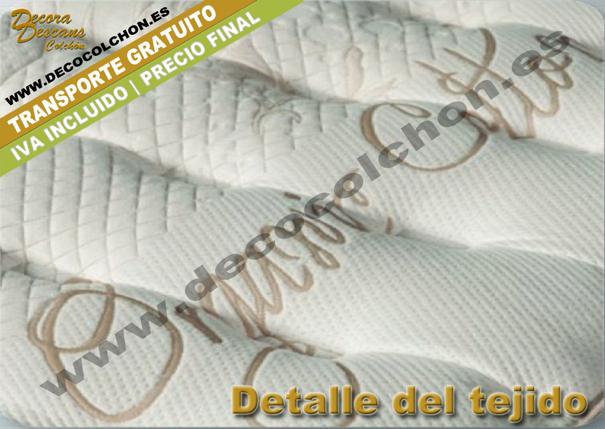 COLCHON ORGANIC COTTON tejido | Kassaida by Sleep&Dream - www.decocolchon.es