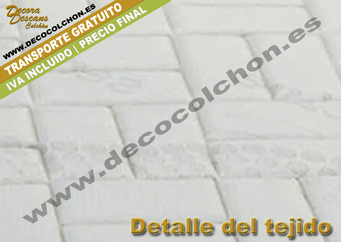 COLCHON SENSOVISCO lateral | Decocolchon Decora Descans